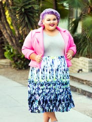 Designer Ashley Nell Tipton, who collaborates with