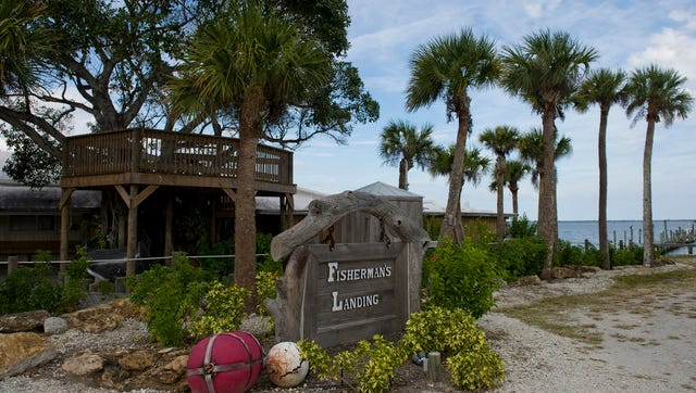 Fisherman's Landing, located in the 1500 block of Indian River Drive in Sebastian. Several docks and piers in Sebastian were damaged in October by Hurricane Matthew.