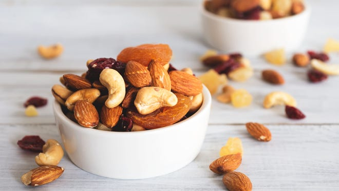 Nuts are a great source of energy, heart-healthy monounsaturated fats, omega-3 fatty acids, antioxidants, vitamins and much more.
