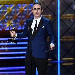 John Oliver on 'Last Week Tonight' return, and that infamous sitdown with Dustin Hoffman