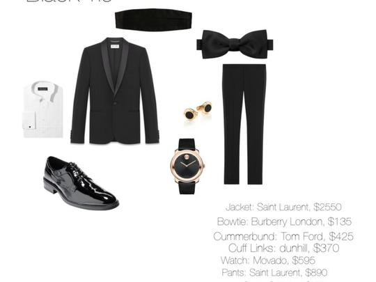 Dress Code: Black Tie (men)