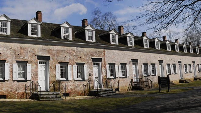The Visitor Center at Allaire Village.