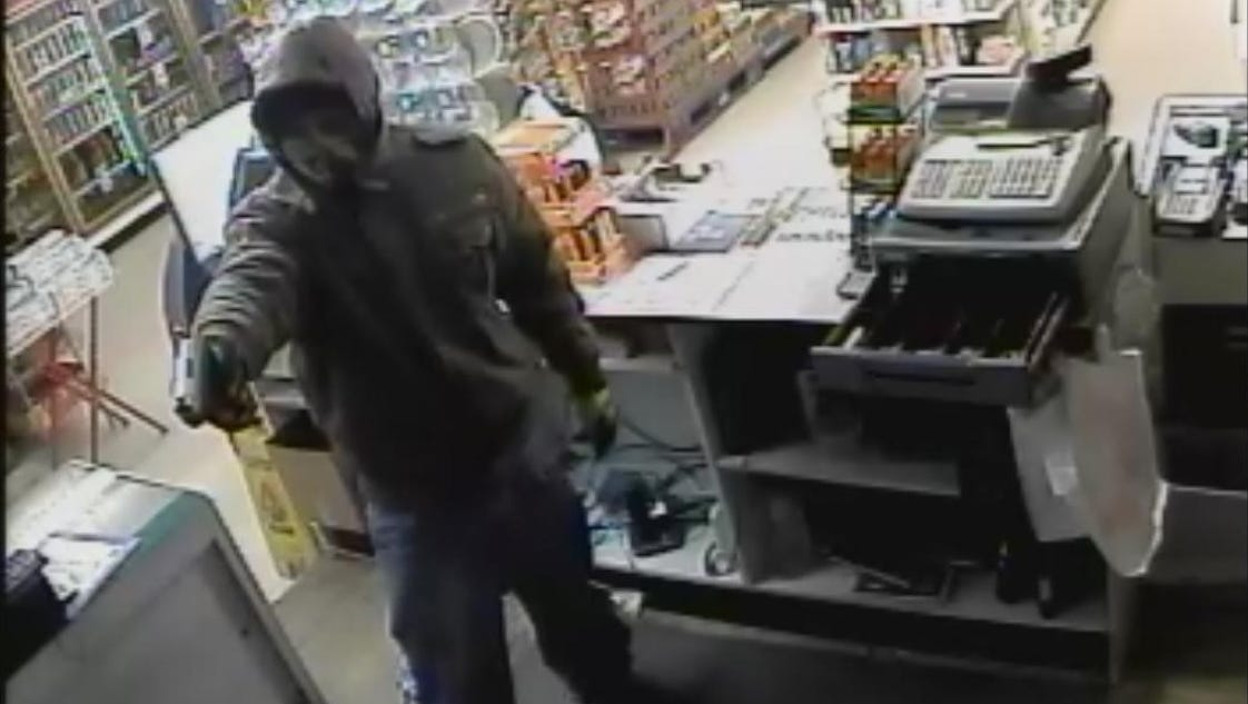 Suspect Wanted In Armed Robbery Of Convenience Store