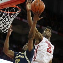 Khalil Iverson has grown into the role of Wisconsin's defensive stopper