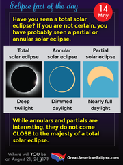 "People in the path of totality can experience a ""deep twilight"" from the August eclipse."