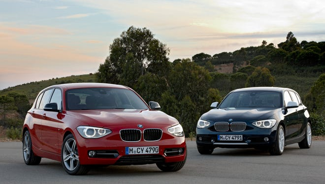 BMW says it has closed a security flaw that affected many of its models. This is a 2011 file photo of the BMW 1 Series,