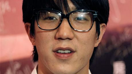 """Hong Kong actor Jaycee Chan attends a premiere of his new film """" Break Up Club """" in Hong Kong. Action star Jackie Chan said he's ashamed and saddened over his son's arrest on drug charges and has apologized to the public. In a microblog posting Wednesday, Chan said his actor son Jaycee Chan would have to face the consequences of his actions, but promised that the two would face the future together."""