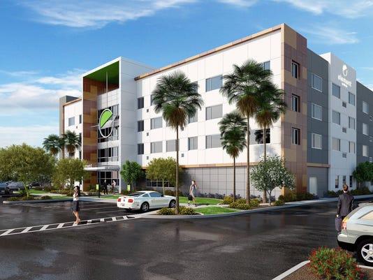 Element hotel rendering