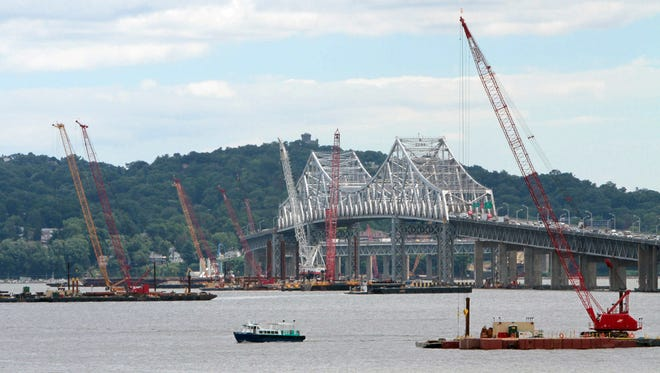 The state will appeal the fed's decision to strike down one of the loans for the Tappan Zee Bridge project, above.