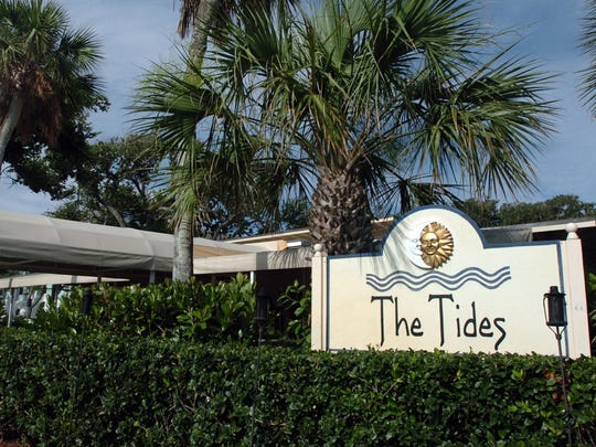 The Tides restaurant is at 3103 Cardinal Drive in Vero Beach.