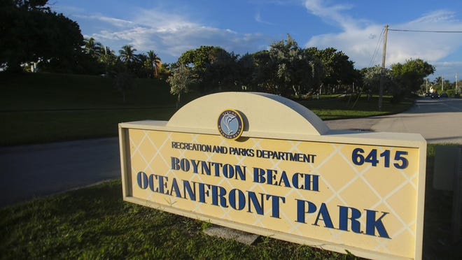 Boynton Beach has owned Oceanfront Park since the 1920s, but it is within the limits of the town of Ocean Ridge.