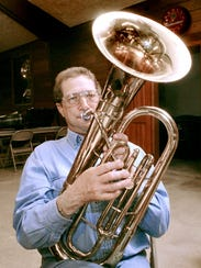 In a Times file photo from 2005, Wendell Asmus of Grey
