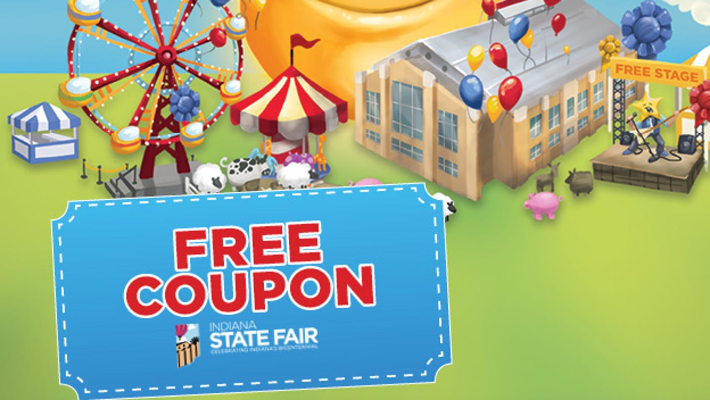 Discount coupons for indiana state fair