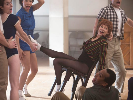 Michelle Williams as Gwen Verdon in a scene from the