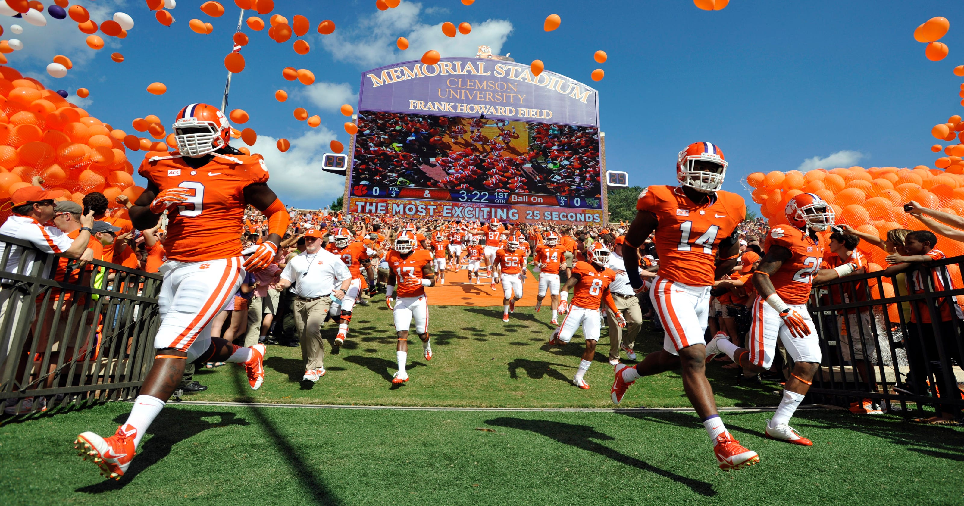 Best college football game-day atmosphere? You decide!