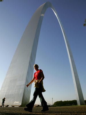Eero Saarinen designed the Gateway Arch in St. Louis.