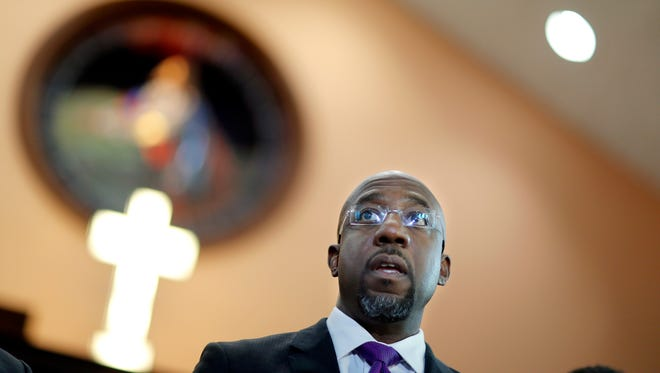 Raphael Warnock, a Baptist minister, is running for U.S. Senate and would become one of two ordained ministers in the chamber should he win.
