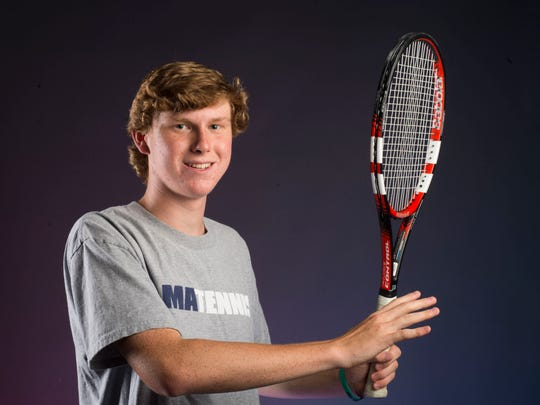 Montgomery Advertiser All-Metro Boy's Tennis Player