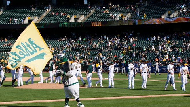 The A's are hoping to generate goodwill among fans as they angle for a new stadium in Oakland.