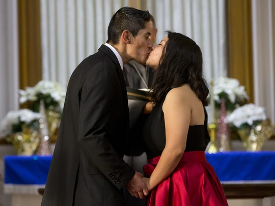 Gerson Gonzalez, 25, marries his high school sweetheart,