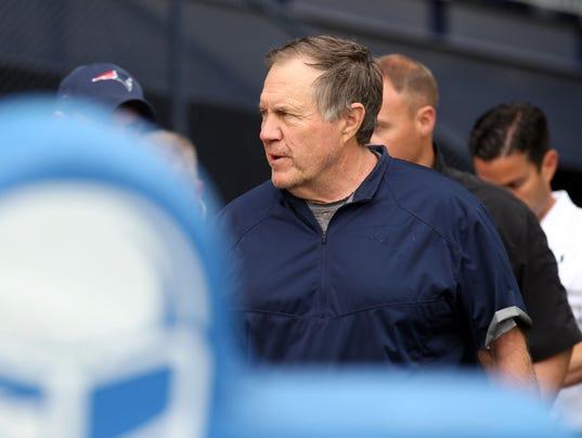 NFL: New England Patriots-OTA
