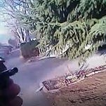 Police video: Suspect approached officer with replica gun in 'suicide by cop' attempt
