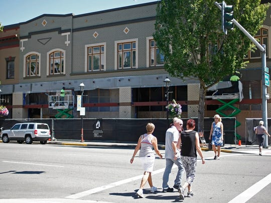 Renovations of the McGilchrist and Roth buildings, in downtown, are expected to be completed in October.
