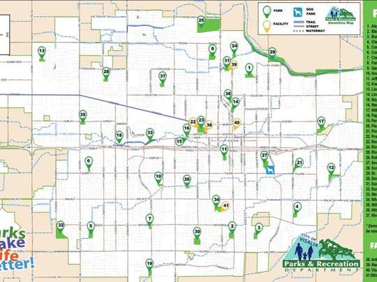 Visalia parks map.JPG