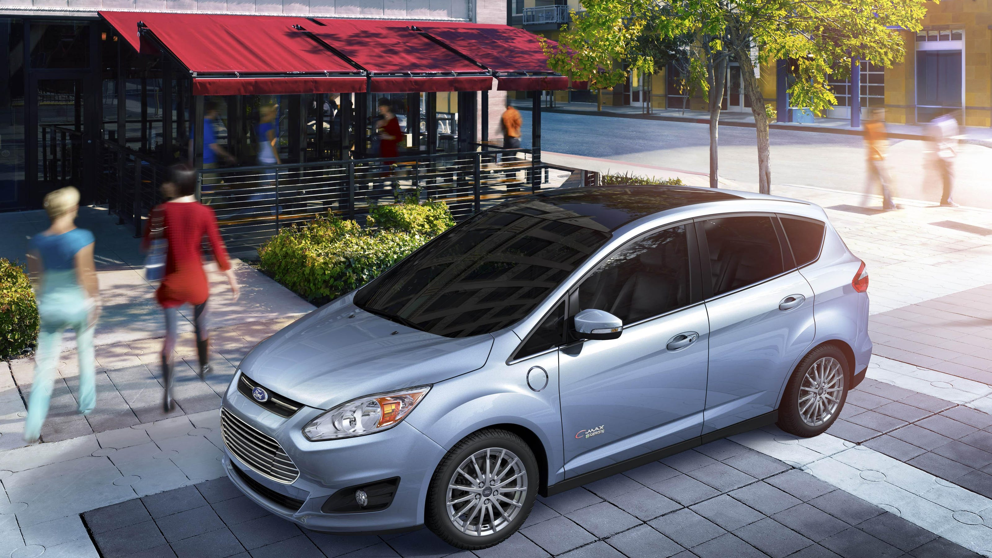 Fuel economy for Ford C Max Energi apparent in city