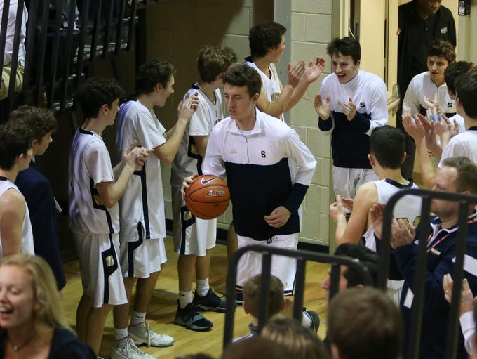 Salesianum takes the court before taking on Sanford