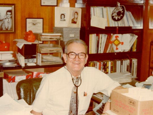 Dr. Hector P. Garcia donated his collection of papers