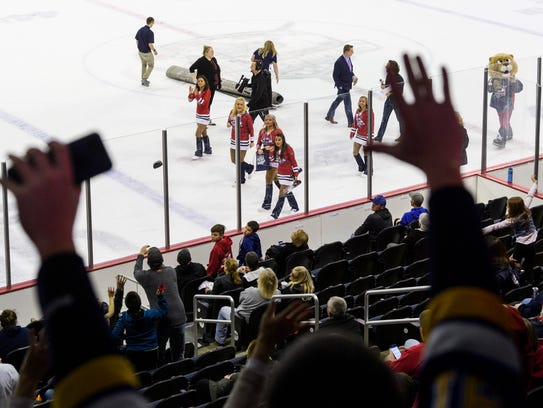 The Evansville Thunderbolts Aviators and Pride, the