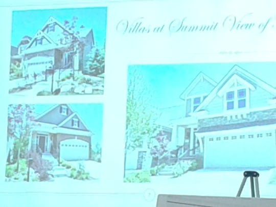 Renderings of the stand-alone single-family villas