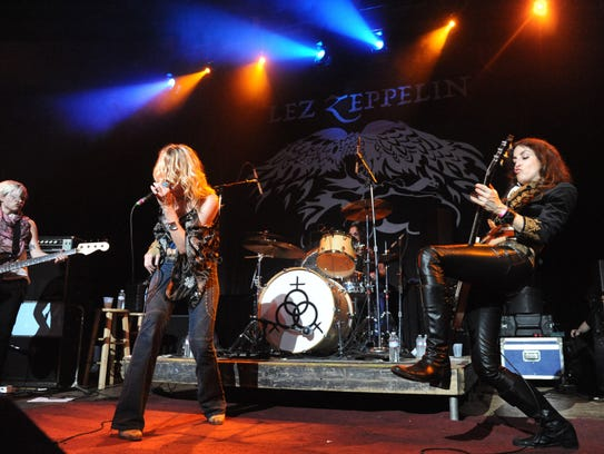 Lez Zeppelin in Fairfax, Virginia on June 18, 2011.