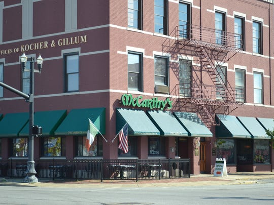 McCarthy's Irish Pub features traditional Irish fare,