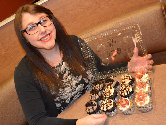 Brittany Tester opened Peace of Cake Bakery in her