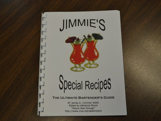 """Jimmie's Special Recipes"" includes dozens of Jimmie"