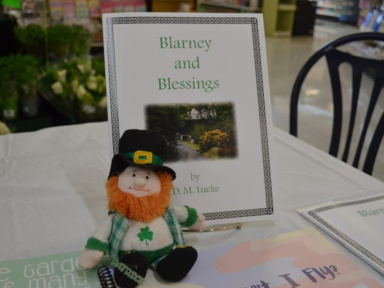 "Donna Lueke's newest book, ""Blarney and Blessings,"" was published in honor of her Canadian-Irish mother, Margery Welsh, a prolific poet and one of the first female bankers in Ottawa County."
