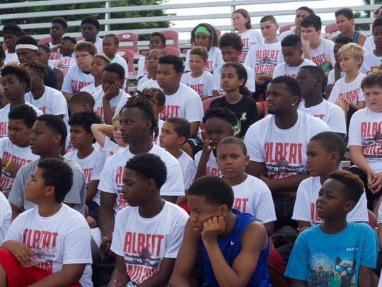 Nearly 200 local children attended the 2017 Albert