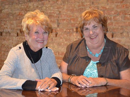 Barb Moran-Engler, left, is a charter member of Fremont