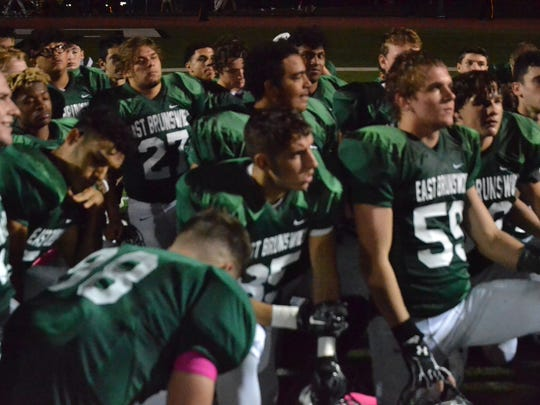 East Brunswick vs. Edison football on Friday, Oct.