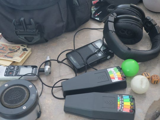 Ghost hunting equipment of Chad Morin's for Ghost Hunt