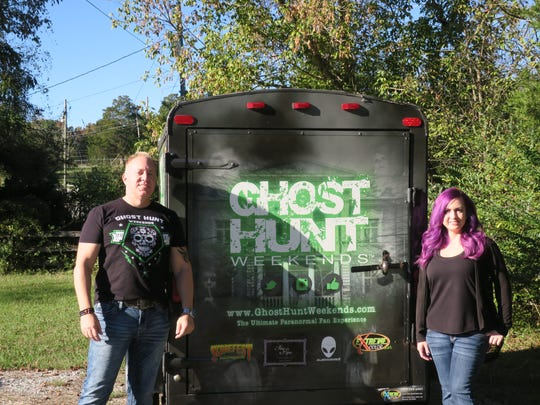 Chad and Staci Morin's company, Ghost Hunt Weekends,