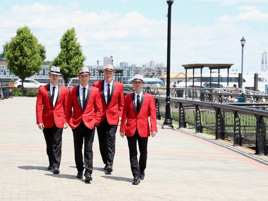 Jersey Tenors are appearing May 1, 2019, at the Weill Center.
