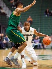 Binghamton University's Marlon Beck II looks to beat