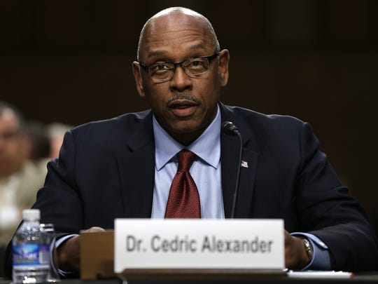 Cedric Alexander, president of the National Organization of Black Law Enforcement Executives and public safety director of DeKalb County, Georgia, testifies Dec. 9, 2014, before the Senate Judiciary Committee's Constitution, Civil Rights and Human Rights Subcommittee.