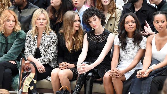Sienna Miller, Kate Moss, Cara Delevingne, St Vincent