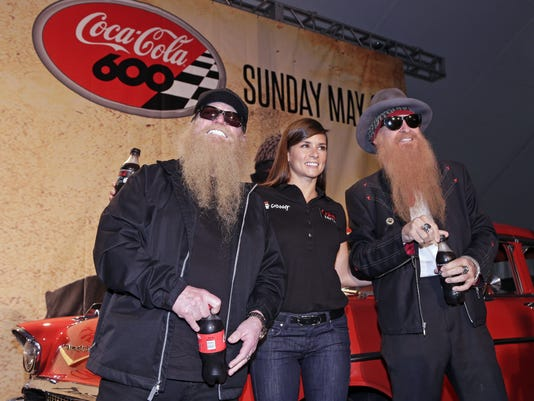 Danica Patrick, Billy Gibbons, Dusty Hill