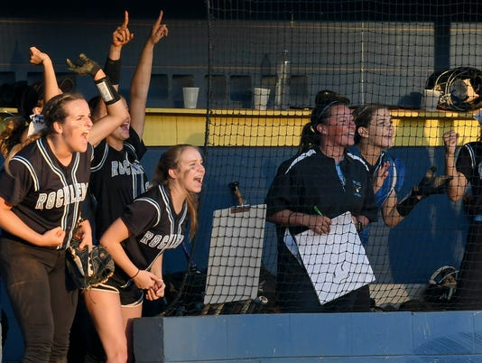 High School Softball: Rockledge at Eau Gallie