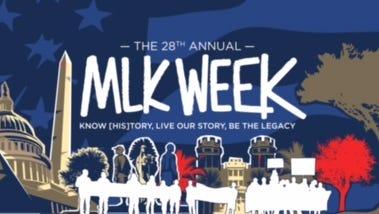 "MLK Week kicks off with a 7:30 p.m. screening of ""Selma"" at the SLC tonight."